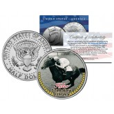 KELSO - 5 Time Horse of the Year - Thoroughbred Racehorse Colorized JFK Half Dollar US Coin