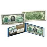1914 Series $50 Ulysses S. Grant Federal Reserve Note designed on Modern $2 Bill