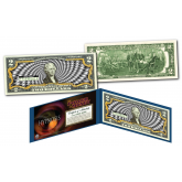 The Original HYPNOSIS * The Power of Money * B & W Genuine Legal Tender U.S. $2 Bill