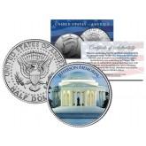 JEFFERSON MEMORIAL - Washington D.C. - JFK Kennedy Half Dollar U.S. Coin