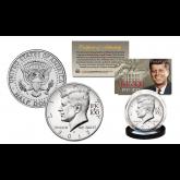 2017 Kennedy U.S Half Dollar Coin CENTENNIAL SPECIAL RELEASE JFK100 PRIVY MARK - P MINT