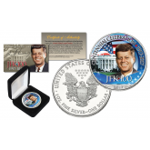PRESIDENT JOHN F. KENNEDY JFK100 Centennial Celebration 2017 Official 1 oz PURE SILVER AMERICAN U.S. EAGLE