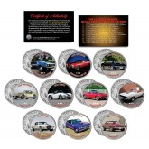 The 10 Most Expensive MUSCLE CARS Ever Sold at Auction - Colorized JFK Kennedy Half Dollar U.S. 10-Coin Set