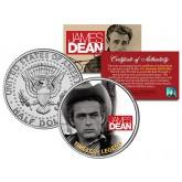 "JAMES DEAN "" Timeless Legend - Giant Movie "" JFK Kennedy Half Dollar US Coin - Officially Licensed"