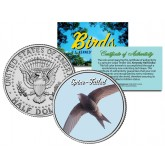 SPINE-TAILED Collectible Birds JFK Kennedy Half Dollar Colorized US Coin PAPUAN SWIFT