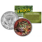 ARGENTINE HORNED FROG Collectible Frogs JFK Kennedy Half Dollar US Coin