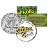 NORTHERN LEOPARD FROG Collectible Frogs JFK Kennedy Half Dollar US Colorized Coin