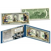 John F Kennedy - 50th ANNIVERSARY of ASSASSINATION - Legal Tender US $2 Bill JFK