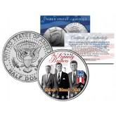 KENNEDY BROTHERS - John Robert Ted - 2014 50th Anniversary JFK Half Dollar U.S. Coin