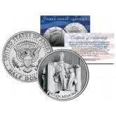 LINCOLN MEMORIAL - Washington D.C. - JFK Kennedy Half Dollar U.S. Coin