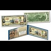 LOUISIANA PURCHASE / LEWIS & CLARK Historical Genuine Legal Tender U.S. $2 Bill