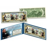 MARTIN LUTHER KING (MLK) - 50th Anniversary - Official Legal Tender U.S. Colorized $2 Bill
