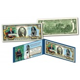 BARACK & MICHELLE OBAMA National Portrait Gallery Official Presidential Portraits Genuine Legal Tender U.S. $2 Bill