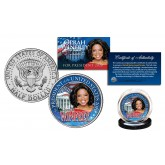 OPRAH WINFREY * For President 2020 * Official JFK Kennedy Half Dollar U.S. Coin WHITE HOUSE