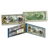 ATTACK ON PEARL HARBOR - December 7th1941 - WWII Genuine Legal Tender U.S. $2 Bill