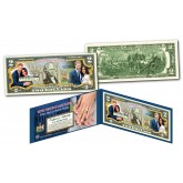 PRINCE HARRY & MEGHAN MARKLE Royal Wedding May 19th 2018 Official Genuine Legal Tender U.S. $2 Bill