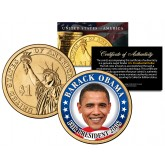 BARACK OBAMA FOR PRESIDENT 2008 - Rare Campaign Issue - Presidential $1 Dollar U.S. Coin