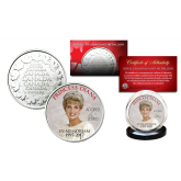 PRINCESS DIANA 1997-2017 20th ANNIVERSARY Royal Canadian Mint Medallion Crown Coin