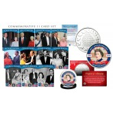 QUEEN ELIZABETH II 11-Card Premium Card Set with The Coronation of Queen Elizabeth II 65th Anniversary RCM Royal Canadian Mint Medallion Coin