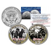 SEABISCUIT BEATS WAR ADMIRAL Match Race JFK Half Dollar 2-Coin Set Horse Racing