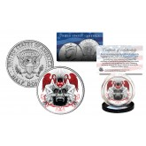 SKULL Genuine Legal Tender JFK Kennedy Half Dollar U.S. Coin - Sexy Angels