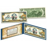 FLORIDA $2 Statehood FL State Two-Dollar U.S. Bill - Genuine Legal Tender