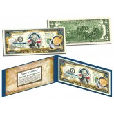 LOUISIANA $2 Statehood LA State Two-Dollar U.S. Bill - Genuine Legal Tender