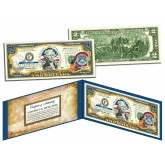 MICHIGAN $2 Statehood MI State Two-Dollar U.S. Bill - Genuine Legal Tender