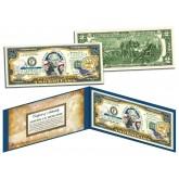 MISSISSIPPI $2 Statehood MS State Two-Dollar U.S. Bill - Genuine Legal Tender