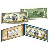 NEW JERSEY $2 Statehood NJ State Two-Dollar U.S. Bill - Genuine Legal Tender