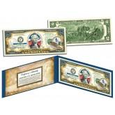 DISTRICT OF COLUMBIA $2 Statehood WASHINGTON DC Two-Dollar U.S. Bill - Genuine Legal Tender