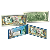 STATUE OF LIBERTY * 130th ANNIVERSARY * Genuine Legal Tender U.S. $2 Bill ** Special Edition Release **