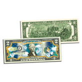 The Original TOOTH FAIRY Good Luck Keepsake Genuine Legal Tender U.S. $2 Two-Dollar Bill