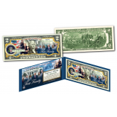 Donald Trump 45th President - THE FIRST FAMILY of the United States Genuine Legal Tender $2 Bill (Melania, Ivanka, Donald Jr, Eric, Tiffany & Barron)