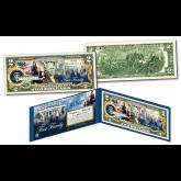 Donald Trump 45th President - THE FIRST FAMILY of the United States Genuine Legal Tender $2 Bill (Melania, Ivanka, Donald Jr, Eric, Tiffany & Barron)