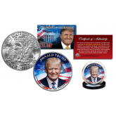 DONALD J. TRUMP 45th President of the United States Official Genuine Legal Tender IKE Eisenhower One Dollar U.S. Coin