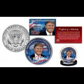 DONALD TRUMP JFK Inauguration 1-20-2017 JFK Kennedy Half Dollar Coin