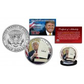 DONALD J. TRUMP 45th President Tax Cuts & Jobs Act of 2017 Official JFK Half Dollar U.S. Coin