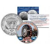 WORLD'S FAIR - 50th Anniversary - NEW YORK 1964-2014 Ferris Wheel Giant Tire JFK Half Dollar Coin