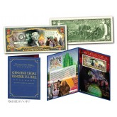 WIZARD OF OZ Official Genuine U.S. $2 Bill in SPECIAL COLLECTIBLE DISPLAY (Limited & Numbered)