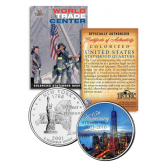 WORLD TRADE CENTER * 15th Anniversary * 9/11 New York Statehood Quarter U.S. Coin ONE 1 WTC