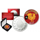 2017 Chinese New Year * YEAR OF THE ROOSTER * Royal Canadian Mint Medallion Coin with DELUXE BOX